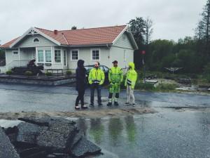 En regning dag i Strömstad
